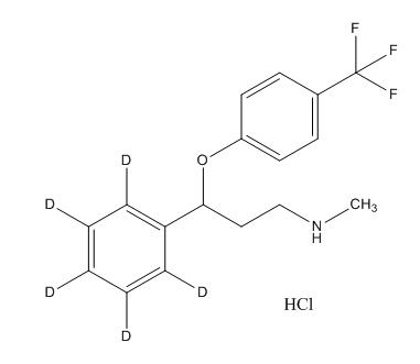 Fluoxetine-d5 HCl
