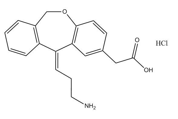 N-Didesmethyl Olopatadine HCl