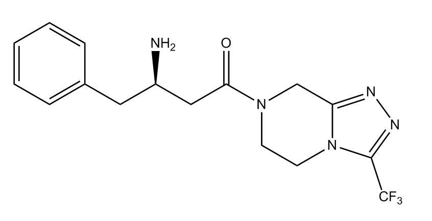 Sitagliptin Defluoro Impurity 1