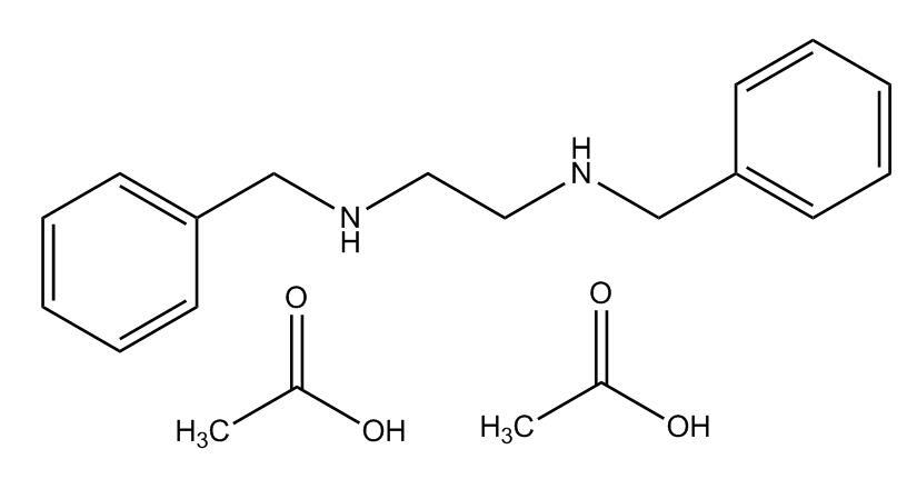 N,N'-Dibenzyl ethylenediamine diacetate