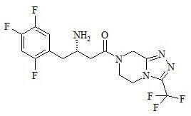 Sitagliptin Impurity 7 (Sitagliptin S-Isomer )