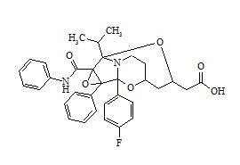 Atorvastatin Epoxy Pyrrolooxazin Tricyclic Analog