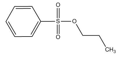 propyl benzenesulphonate