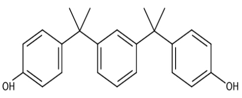4,4'-(1,3-Phenylenediisopropylidene)bisphenol