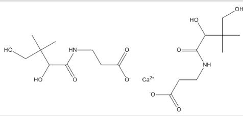 Pantothenic acid calcium salt