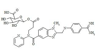 Dabigatran Acyl-Beta-D-Glucuronide