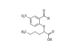 2-(2-Formyl-4-Nitrophenoxy)-Hexanoic Acid