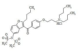 Dronedarone Hydrochloride Impurity B