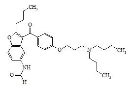 Dronedarone N-Formyl Impurity