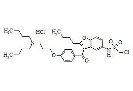 Dronedarone Hydrochloride Impurity 2