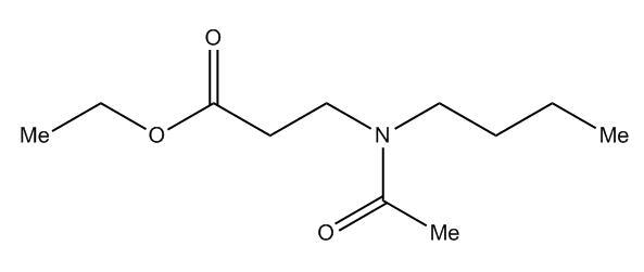 Ethyl 3-(N-butylacetamido)propanoate