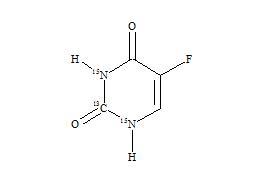 5-Fluorouracil-13C-15N2