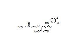 3-Desmorpholinyl-3-hydroxyethylamino Gefitinib