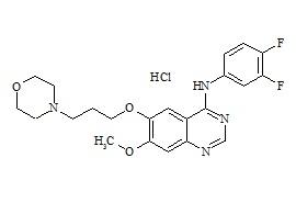 Gefitinib 3,4-Difluoro Impurity HCl