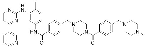 Toluene acyl methyl imatinib