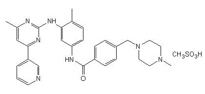Methyl mesylate imatinib analogues