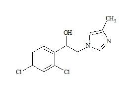 1-(2, 4-Dichlorophenyl)-2-(4-Methylimidazole-1-yl)-Ethanol