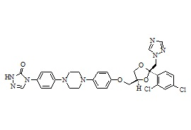 N-Desalkyl itraconazole