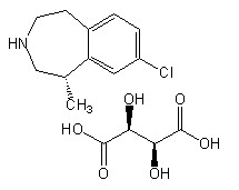 Lorcaserin-D-tartrate