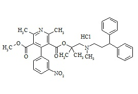 Lercanidipine Impurity D HCl (Dehydro Lercanidipine HCl)