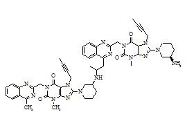 Linagliptin Dimer Impurity 3