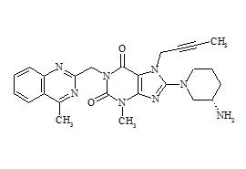 Linagliptin Impurity 10 (S-Isomer)