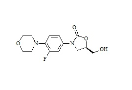 Linezolid Impurity ((5R)-3-[3-Fluoro-4-(4-morpholinyl)phenyl]-5-hydroxymethyl-2-oxazolidinone)