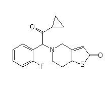 Prasugrel deacetylation