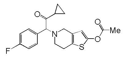 P-Fluoroprasugrel Hydrochloride
