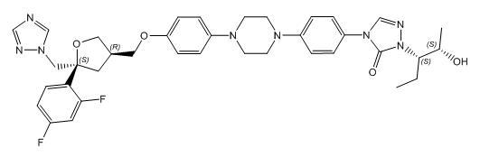 Posaconazole Diastereoisomer - (S,R,S,S)