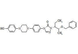 Posaconazole Diastereoisomer Related Compound 3