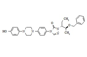 Posaconazole Diastereoisomer Related Compound 4