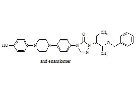 rac-Posaconazole Diastereoisomer Related Compound 3