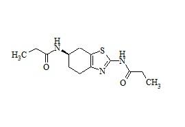 (R)-N, N'-(4, 5 ,6, 7-Tetrahydrobenzo[d]thiazole-2, 6-diyl)dipropioamide