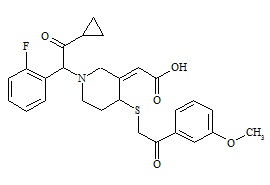 Prasugrel Metabolite Derivative (cis R-138727MP, Mixture of Diastereomers)