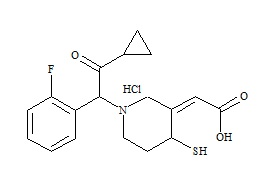 Prasugrel Metabolite R-138727 HCl (Mixture of Diastereomers)