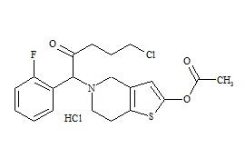 Prasugrel Impurity 4 HCl