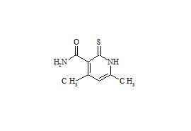 1, 2-Dihydro-4, 6-Dimethyl-2-Thioxo-3-Pyridinecarboxamide