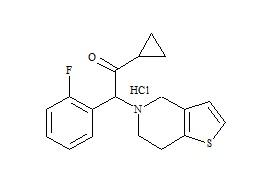 Prasugrel Impurity 13 HCl