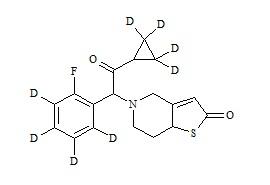 Prasugrel Metabolite-D8 (R-95913-D8)