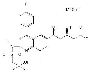 Rosuvastatin Related Compound 01 (Calcium Salt)