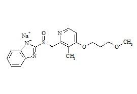 (R)-Rabeprazole Sodium Salt