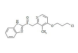Rabeprazole Impurity (Chloropropoxy Analogue)