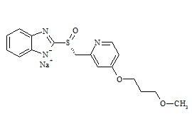 (R)-Desmethyl Rabeprazole Sodium Salt