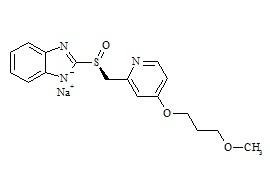 (S)-Desmethyl Rabeprazole Sodium Salt