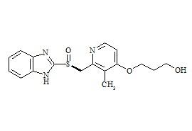 (S)-O-Desmethyl Rabeprazole Impurity