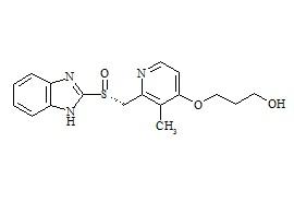 (R)-O-Desmethyl Rabeprazole Impurity