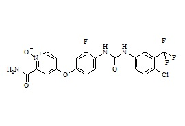 N-Desmethyl Regorafenib N-Oxide (M5 Metabolite)