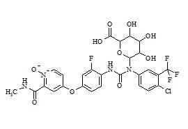 Regorafenib N-Oxide N-Glucuronide