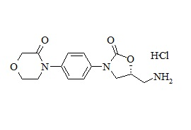Rivaroxaban Related Compound (R-4-(4-(5-(Aminomethyl)-2-Oxooxazolidin-3-yl)phenyl-Morpholin-3-One HCl)